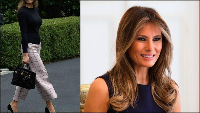 Foto: Melania Trump: sugestii de stil pentru o zi răcoroasă de vară!