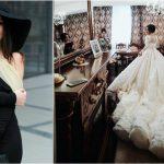 Foto: Bloggerița Hellen Monroe face astăzi nunta! Iată cum arată rochia de mireasă