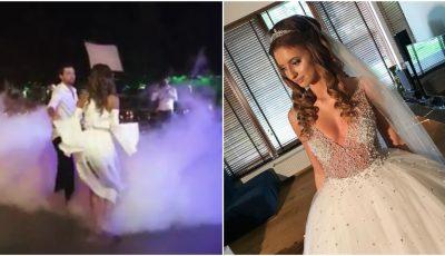 Video! Margarita Dodon și-a jucat nunta. Vezi imagini cu primul dans al mirilor