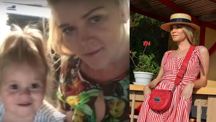 Foto: Olia Tira a avut parte de un cadou deosebit de ziua ei de naștere! Vezi cum au surprins-o colegii de breaslă