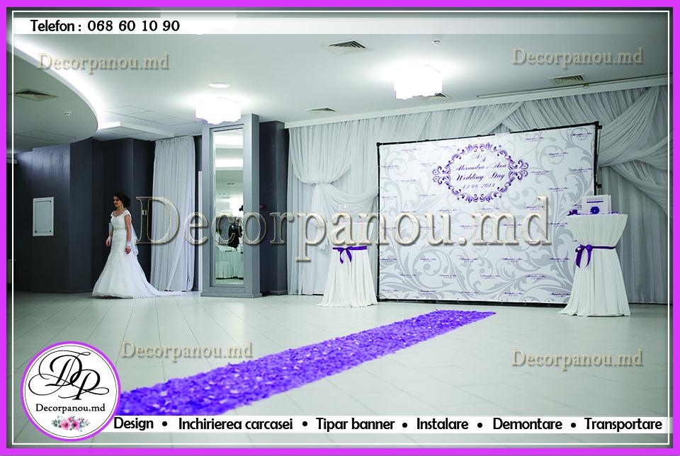 Decor de nunta la un preţ accesibil, свадебное оформление цветами ткань wedding decoration