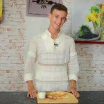 Foto: Află rețeta de plăcinte ca la sud de la tânărul interpret Gabriel Nebunu