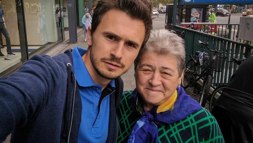 Emoționant! Andrei Bolocan și-a dus mama la Berlin, în orașul în care odată și-a făcut studiile