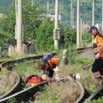 Foto: Caz înfiorător în România! 4 persoane au fost lovite mortal de tren, ar fi vorba de un act suicidal