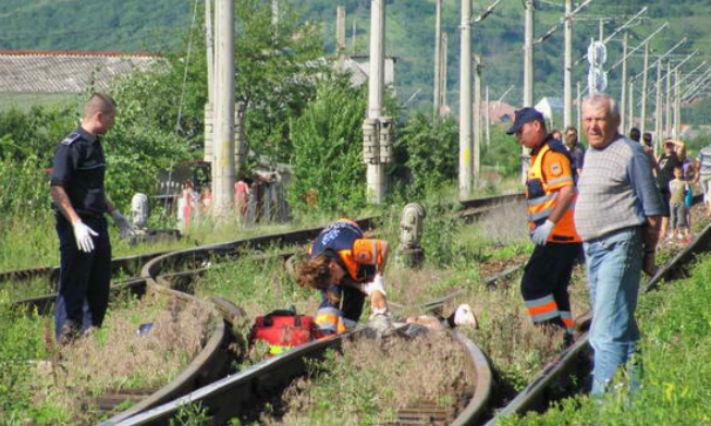 Caz înfiorător în România! 4 persoane au fost lovite mortal de tren, ar fi vorba de un act suicidal