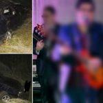 Foto: Un artist din România, rănit grav într-un accident, în timp ce se întorcea din Republica Moldova unde a susținut un concert