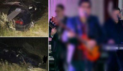 Un artist din România, rănit grav într-un accident, în timp ce se întorcea din Republica Moldova unde a susținut un concert