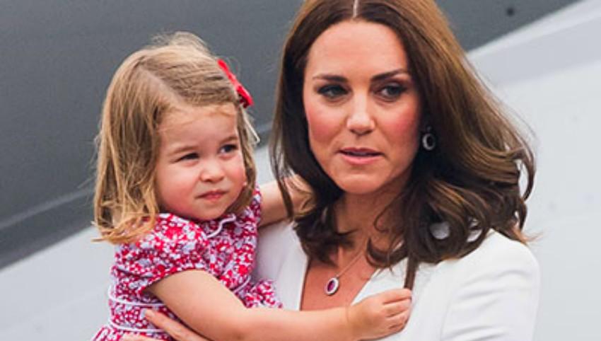Foto: Motivul pentru care prințesa Charlotte poartă mereu părul prins cu o fundiță