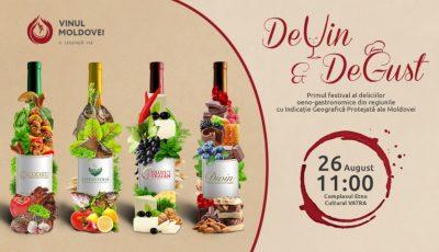 """Festivalul """"DeVin&DeGust"""": ce trebuie să știi despre rachiul de vin produs în regiunea cu IGP """"Divin""""?"""
