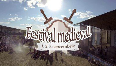 Mâine începe Festival Medieval 2017! Vezi cum poți ajunge și tu la eveniment