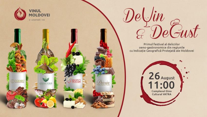 """Cocktail-uri pe bază de divin și ciocolată, la Festivalul """"DeVin&DeGust""""! Află totul despre vinurile produse în regiunea cu IGP """"Divin"""""""