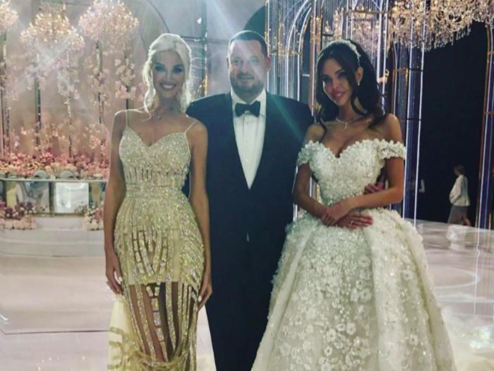 Nuntă De Lux în Rusia Dintre Un Miliardar Rus și Un Model Doar