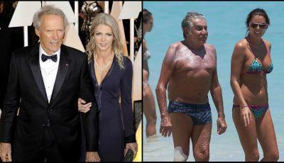 Bărbați celebri cu iubite mult mai tinere!