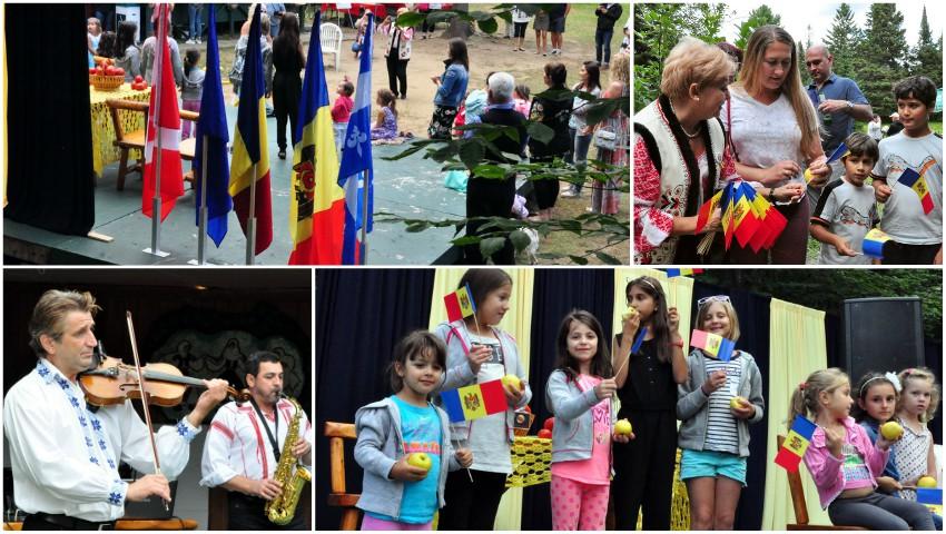 """Foto: Moldovenii stabiliți în Canada au organizat festivalul ,,Ziua Limbii Române"""""""