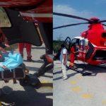 Foto: O fetiță din Briceni a căzut într-un vas cu apă clocotită