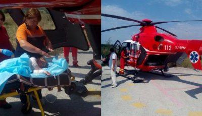 O fetiță din Briceni a căzut într-un vas cu apă clocotită