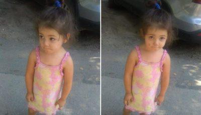 S-au găsit rudele fetiței de 2 ani, care se plimba singură pe străzile Capitalei