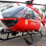 Foto: Video. Un copil de un an și 4 luni, transportat de urgență cu un elicopter Smurd de la Chișinău la București