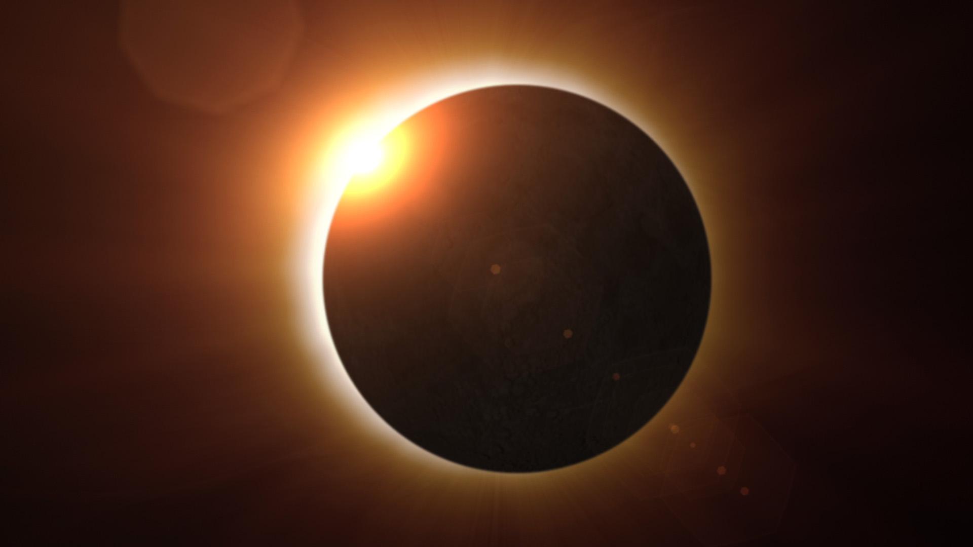 Video! Cum s-a vazut eclipsa totală de soare din America