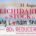 Foto: Lichidare de stock. Reduceri de până la 80% în magazinul My London Shop!