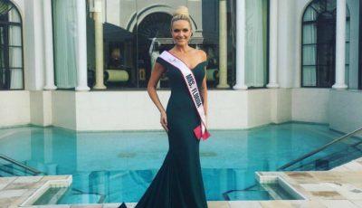 """O moldoveancă concurează pentru titlul de ,,Miss America"""""""
