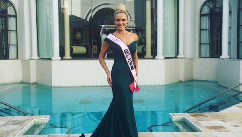 """Foto: O moldoveancă concurează pentru titlul de ,,Miss America"""""""