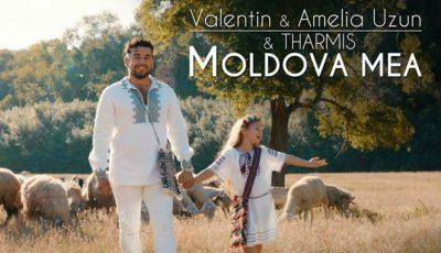 Valentin Uzun și fiica sa Amelia, au lansat o piesă dedicată Moldovei!
