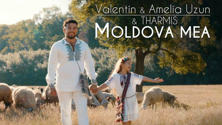 Foto: Valentin Uzun și fiica sa Amelia, au lansat o piesă dedicată Moldovei!