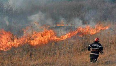 Incendiu de proporțíi la Trușeni