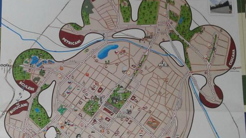 """Foto: Original și impresionant! Orașul are o nouă hartă: """"Descoperă Chisinăul"""""""
