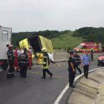Foto: Tragedie la Comrat! Un biciclist și-a pierdut viața după ce a fost lovit de un camion