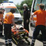 Foto: Accident grav în țară. Trei persoane au avut de suferit