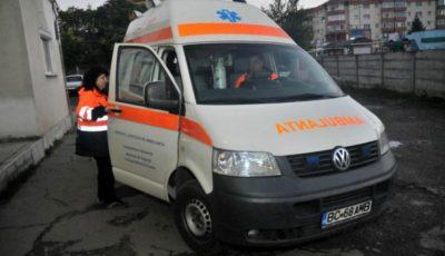 Accident grav în țară. Cinci persoane, printre care trei minori au fost transportați de urgență la spital
