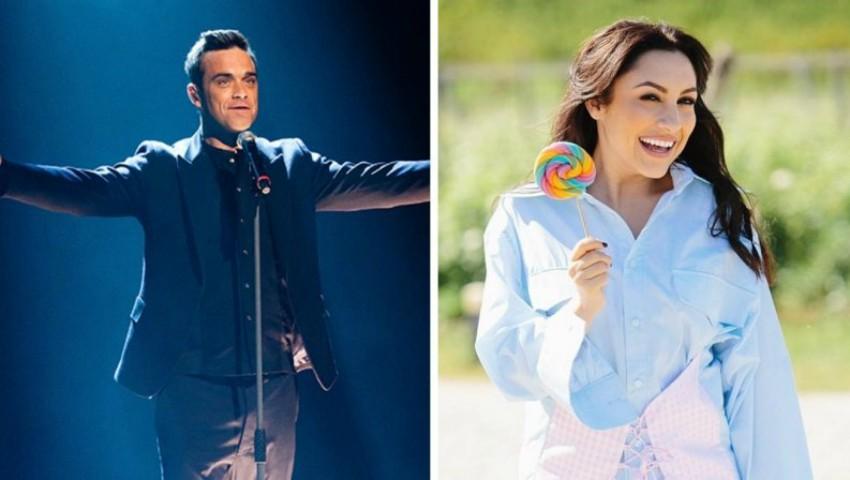 """Foto: Impresionant! Robbie Williams a oprit concertul pentru a-i cânta """"La mulți ani"""" Andrei"""