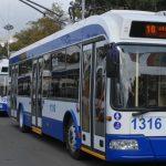 Foto: Începând cu această săptămână, numărul troleibuzelor care circulă pe străzile Capitalei va fi suplimentat