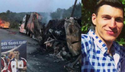Tragic! Un moldovean a ars de viu în camionul pe care îl conducea în SUA