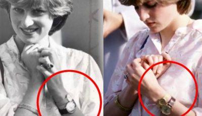 Prințesa Diana purta două ceasuri la aceeași mână. Motivul din spatele acestui gest este unul incredibil