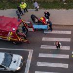 Foto: Tragic! O femeie  din Chișinău a fost lovită mortal pe trecerea de pietoni