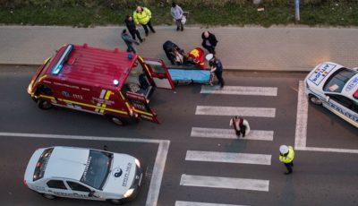 Tragic! O femeie  din Chișinău a fost lovită mortal pe trecerea de pietoni