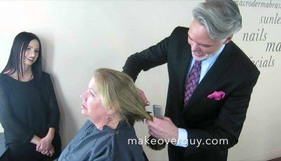Video. Schimbarea de look pe care i-a făcut-o hair-stilistul acestei femei, depășește orice imaginație!