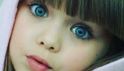 Cea mai frumoasă fetiţă din lume are doar 6 ani și este originară din Rusia
