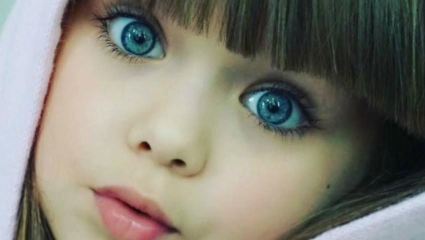 Foto: Cea mai frumoasă fetiţă din lume are doar 6 ani și este originară din Rusia