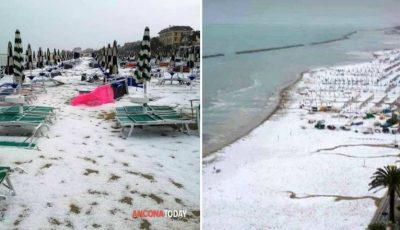 A nins pe un litoral din Italia