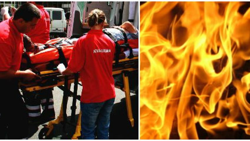 Foto: Cumplit! O femeie și-a dat foc după ce medicii i-au stabilit un diagnostic crunt