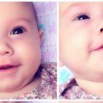 Foto: Lacrimi de bucurie pentru Miriam, căreia medicii moldoveni i-au greșit diagnosticul. Fetița NU suferă de cancer!
