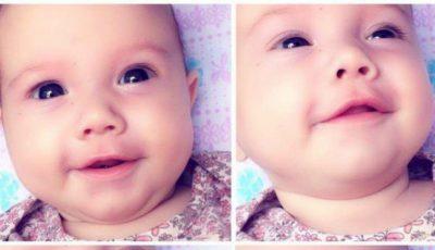 Lacrimi de bucurie pentru Miriam, căreia medicii moldoveni i-au greșit diagnosticul. Fetița NU suferă de cancer!