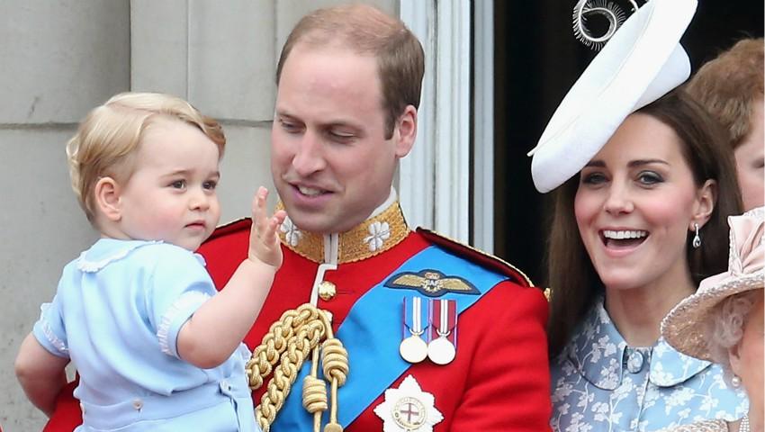 Foto: Cu ce nu are voie să se joace prințul George?