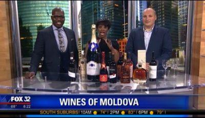 Vinul moldovenesc a făcut senzație la o emisiune TV din Chicago! Vezi video