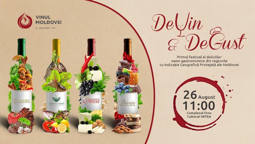"""Foto: Festivalul """"DeVin&DeGust"""" – descoperă aroma vinului bun și secretele asocierii cu bucatele tradiționale, în cadrul unui eveniment inedit!"""