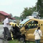 Foto: Accident grav, produs în România. Un moldovean a ajuns în comă la spital, iar soția sa însărcinată a fost rănită